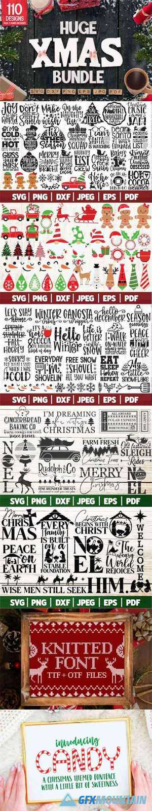 Huge Christmas Bundle SVG 6527941