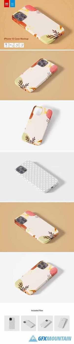 iPhone 12 Case Mockup
