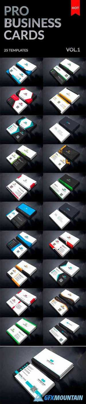 25 Mega Business Cards Bundle 5477202