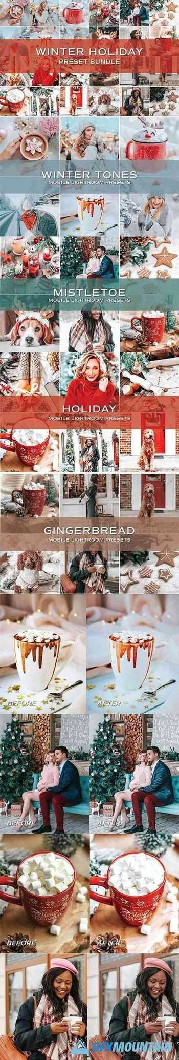 20 Holiday Lightroom Preset Bundle 5701823