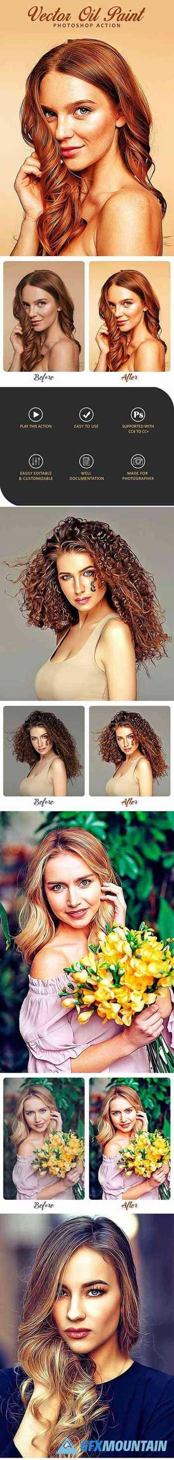 Vector Oil Paint Photoshop Action 29924208
