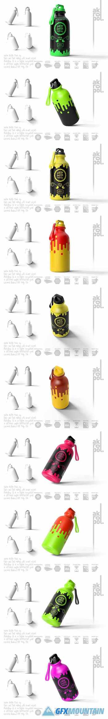 Reusable Water Bottle MockUp 5750685