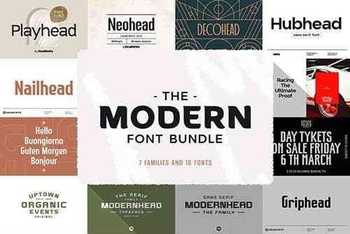 The Modern Font Bundle 5975276