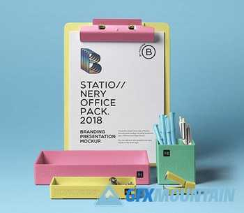 Stationery Office Pack Mockup