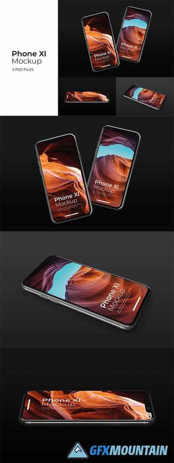 iPhone 11 Presentation - Mockup