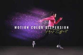 Motion Color Dispersion Photo Effect