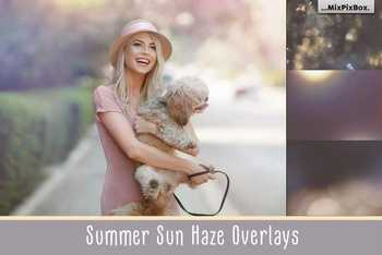 Summer Sun Haze Photo Overlays